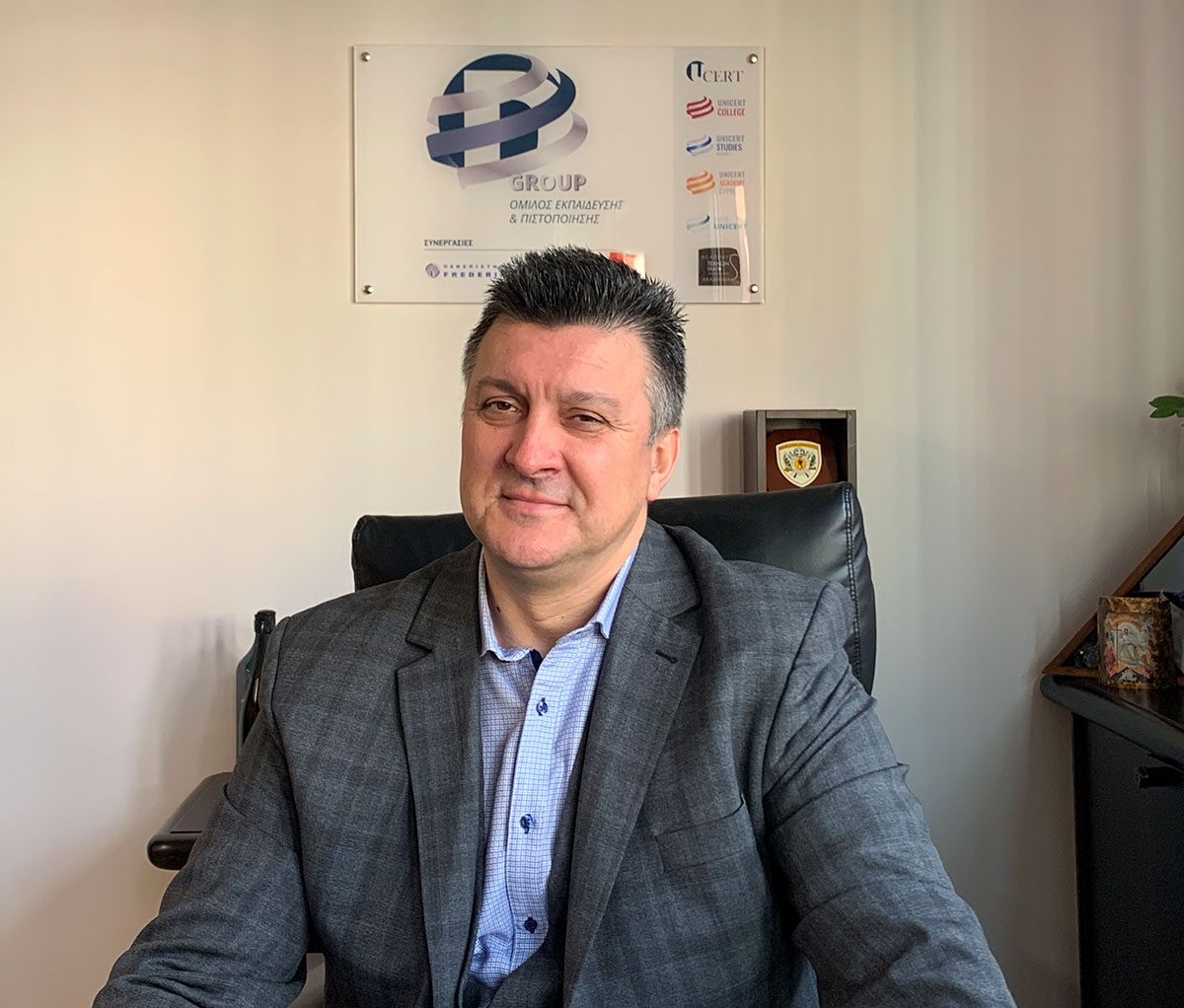 UCERT | D GROUP - Δρ Δημήτριος Δερπάνης