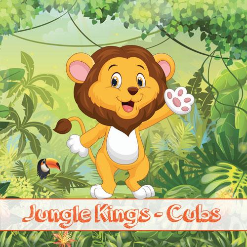 UCERT | Πιστοποίηση Αγγλικών για Παιδιά - Jungle Kings - Cubs