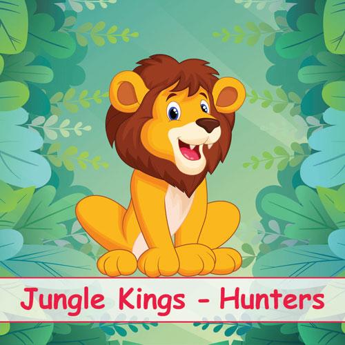 UCERT | Πιστοποίηση Αγγλικών για Παιδιά - Jungle Kings - Hunters